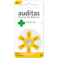 Auditas Mercury Free Type 10: 180 Batterien