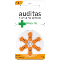 Auditas Mercury Free Type 13: 60 Batterien