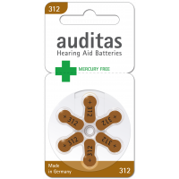 Auditas Mercury free Type 312: 180 Batterien