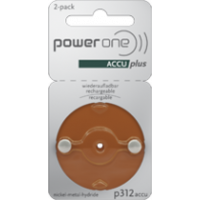 power one ACCU Plus p312: 2 Batterien
