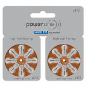 power one Mercury Free p312 TWIN pack: 5 Blister
