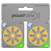power one Mercury Free p10 TWIN pack: 80 Batterien