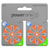 power one Mercury Free p13 TWIN pack: 80 Batterien