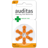 Auditas Mercury Free Type 13: 6 Blister
