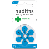 Auditas Mercury Free Type 675: 6 Blister
