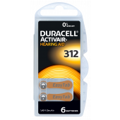 Duracell Mecury Free DA312: 6 Blister