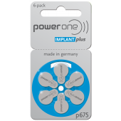 power one IMPLANT plus: 60 Batterien